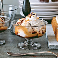 Caramel-Chocolate Sundaes