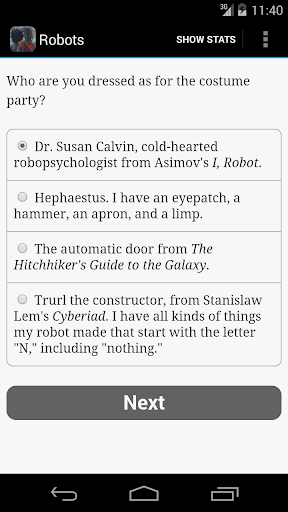 Choice of Robots - screenshot