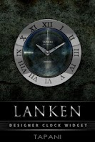 Screenshot of Lanken Designer Clock Widget