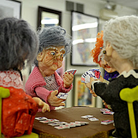 Grandma's Night Out  by Mohammed Khan - Artistic Objects Toys