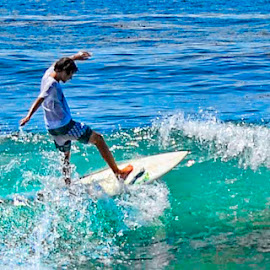 At Crystal Cove Ca by Vinny Kane - Sports & Fitness Surfing