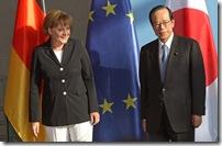 Chancellor Merkel Meets Japanese Prime Minister ZJgr9LMjqpsl