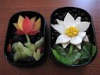 lotus flower bento