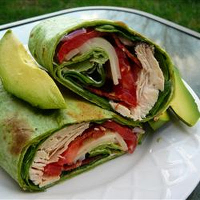 California Club Chicken Wraps