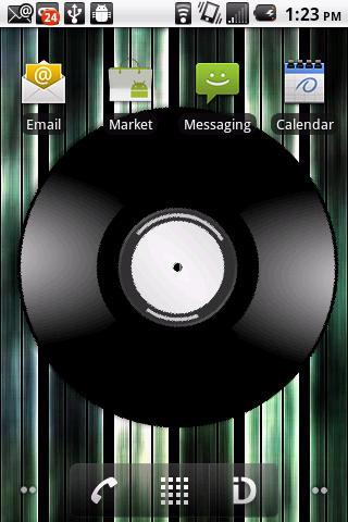 Vinyl Record Live Wall Paper