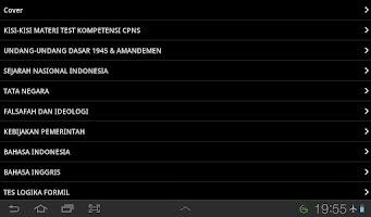 Screenshot of Kumpulan Soal Tes CPNS