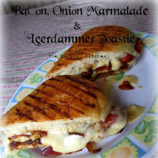 Bacon, Onion Marmalade & Leerdammer Toastie