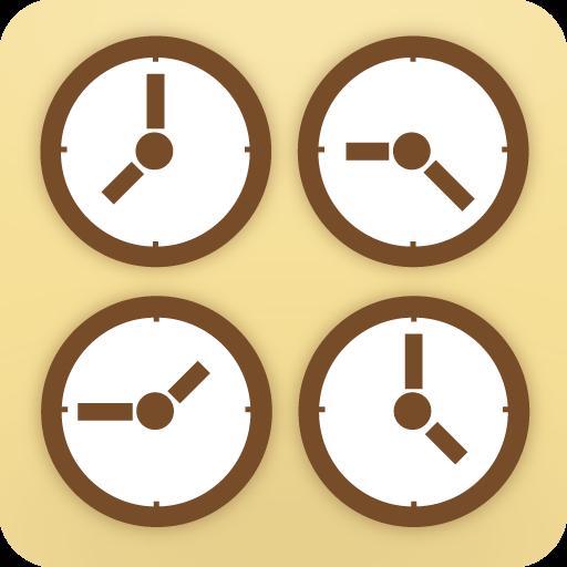 World Clock Widget LOGO-APP點子