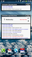 Screenshot of Calendar Pro/en - test version