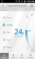Screenshot of Smart Air Conditioner(CAC)