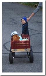 pulling wagon