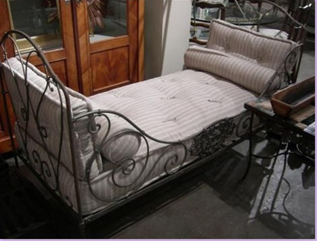 Vintage Iron Daybed Normal Sex Vidoes Hot