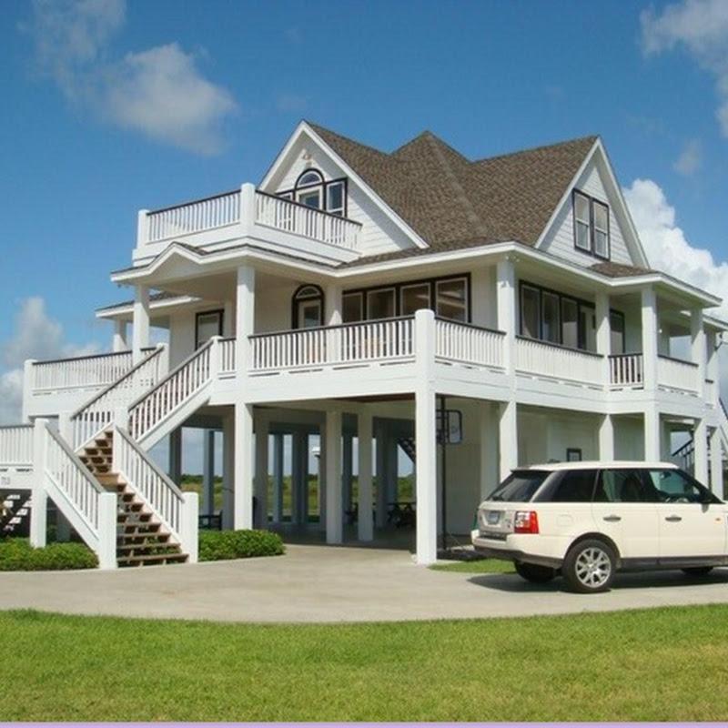 Beach Style Houses