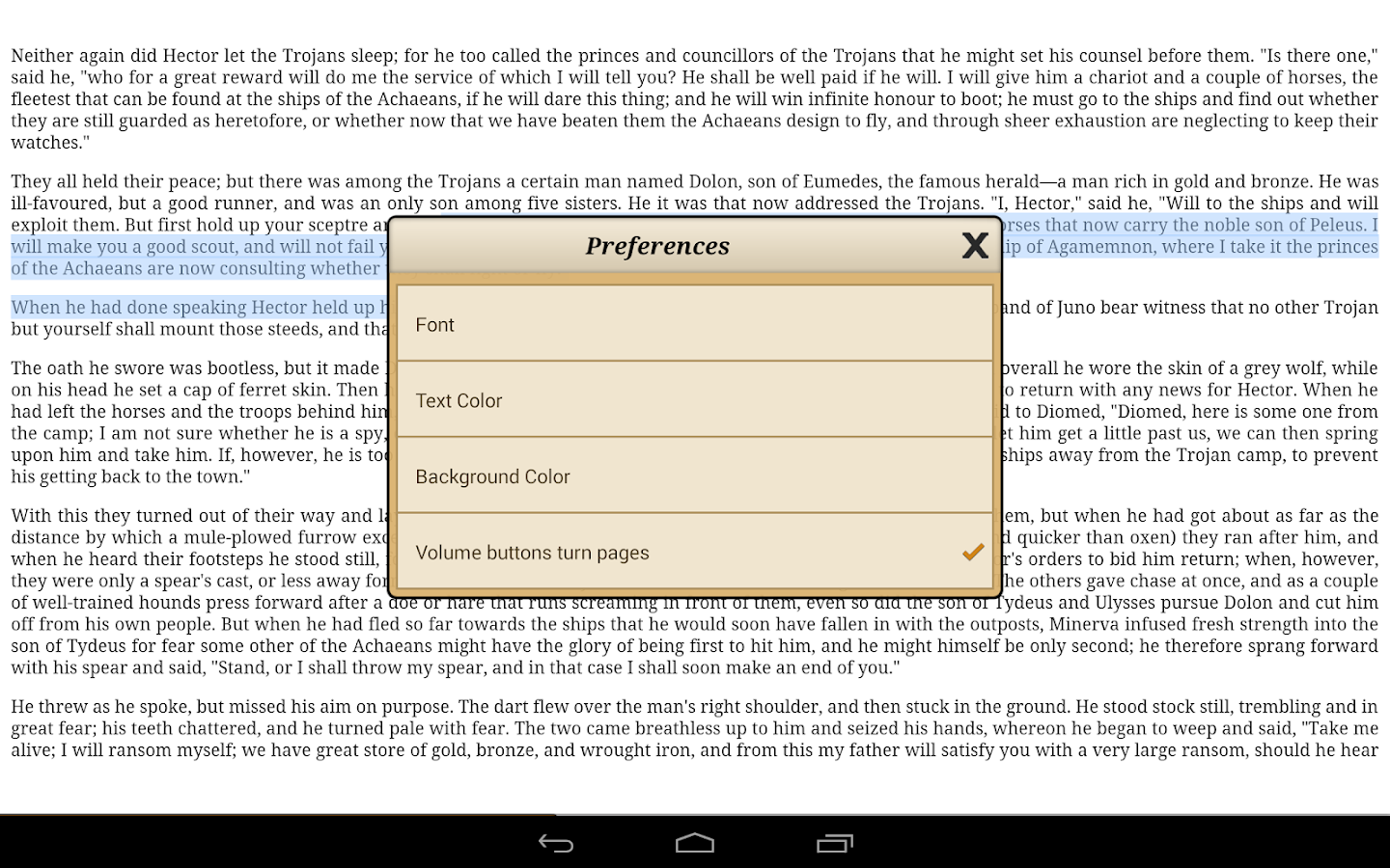 Ebook Reader Screenshot 8