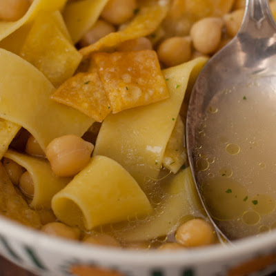Ultimate Chickpea Noodle Soup
