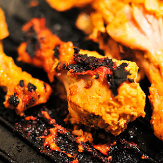 Twice-Cooked Mock Tandoori Chicken