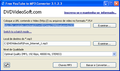 Free youtube to MP3 01