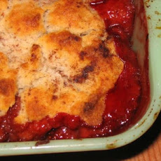 Gluten-Free Strawberry-Pear Cobbler