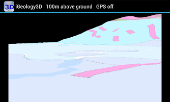 Screenshot of iGeology