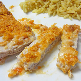 Cheez-It Coated Pork Chops