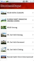 Screenshot of BantenMaps for Android