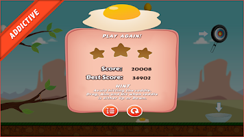 Screenshot of Egg Hit (Easter Egg Special)