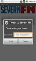 Screenshot of Severn FM