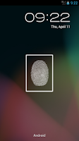 Screenshot of Finger Scanner