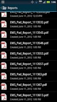 Screenshot of EMS Pad