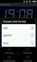 Screenshot of Quake Alarm Easy