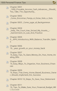 1500 Personal Finance Tips - screenshot