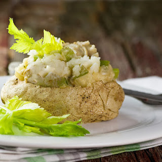 Clam Chowder Baked Potatoes