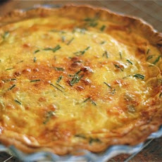 Bacon & Green Chili Quiche