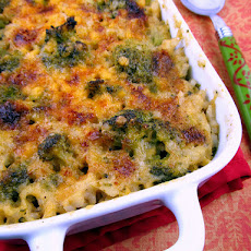 Baked Broccoli Cheese Rice