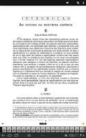Screenshot of Livro dos Espíritos Português