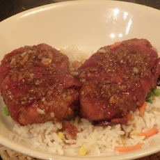 Glazed Pork Medallions for Two