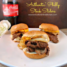 """Authentic"" Philly Steak Sliders"