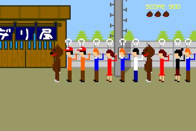 【ゲーム】「デリ屋」行列の出来るラーメン屋さんの行列整理係を体験出来るゲーム