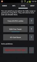 Screenshot of GameBooster 2 ★ root