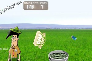 Screenshot of LitterBug Game