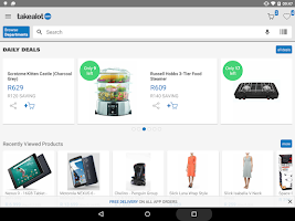 Screenshot of takealot.com
