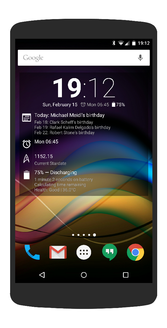 Chronus: Home & Lock Widgets Screenshot 3