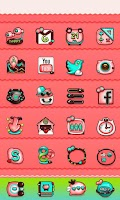 Screenshot of Meow Meow GO Launcher Theme