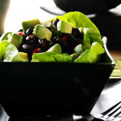 Avocado Asian Black Bean Salad