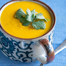 Spicy Kabocha Pumpkin Soup