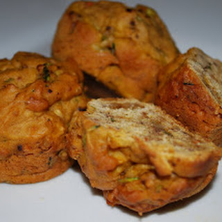 Glorious Carrot Zucchini Muffins