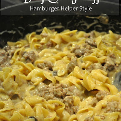 Beef Stroganoff – Hamburger Helper Style