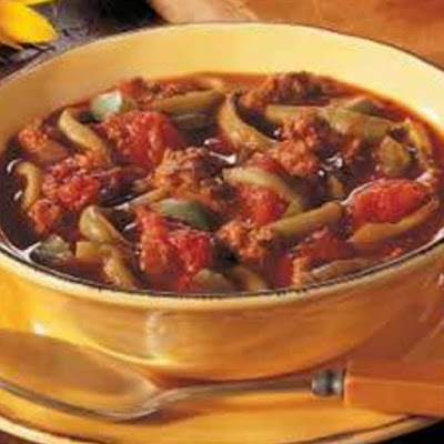 Low Carb Green Bean Chili