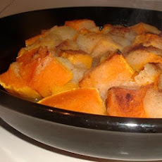 Baked Butternut Squash with Apples and Maple Syrup