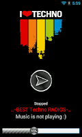 Screenshot of Best Techno Radios
